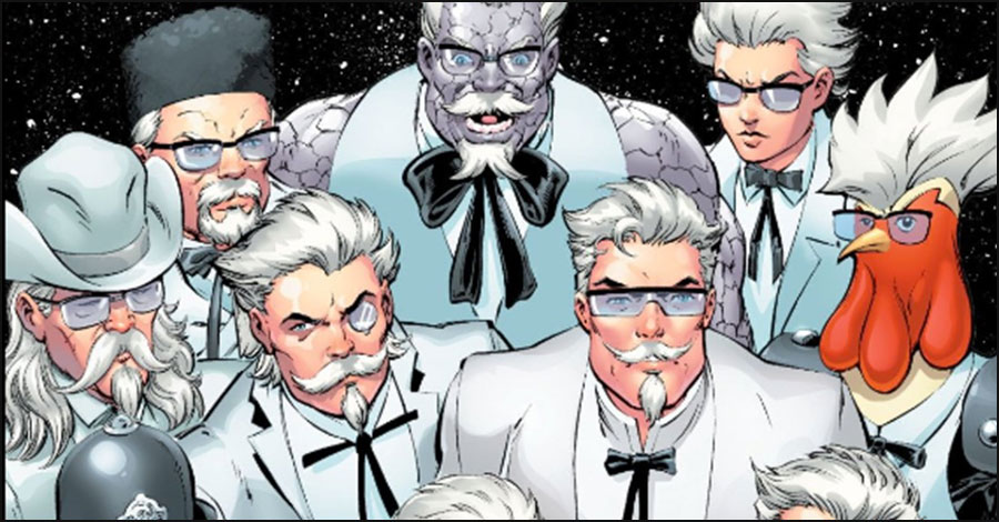 DC Comics teases another Colonel Sanders comic