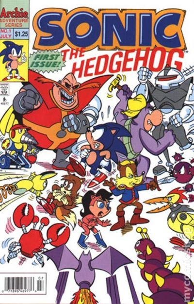 Long Running Sonic The Hedgehog Comic Comes To An End At Archie Smash Pages