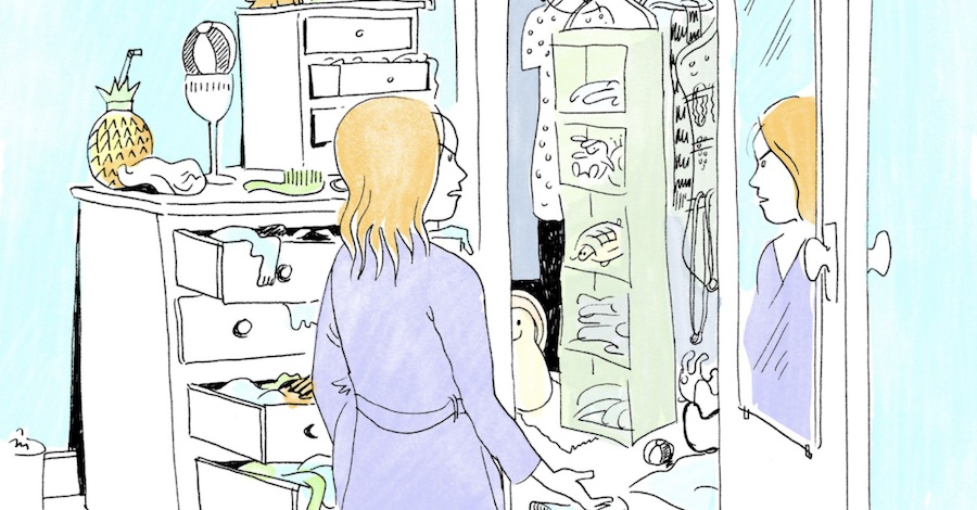 Sunday Comics: Nothing to Wear, No Place to Go