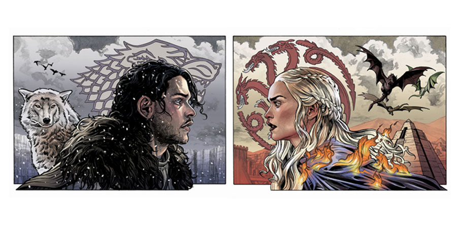Prepare for winter with Benjamin Dewey's 'Game of Thrones' prints