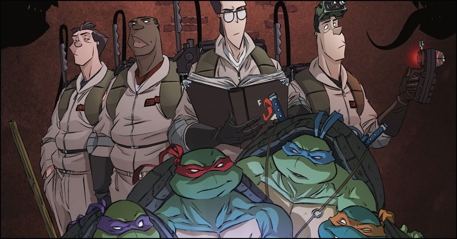 Ghostbusters + Ninja Turtles team up in second crossover