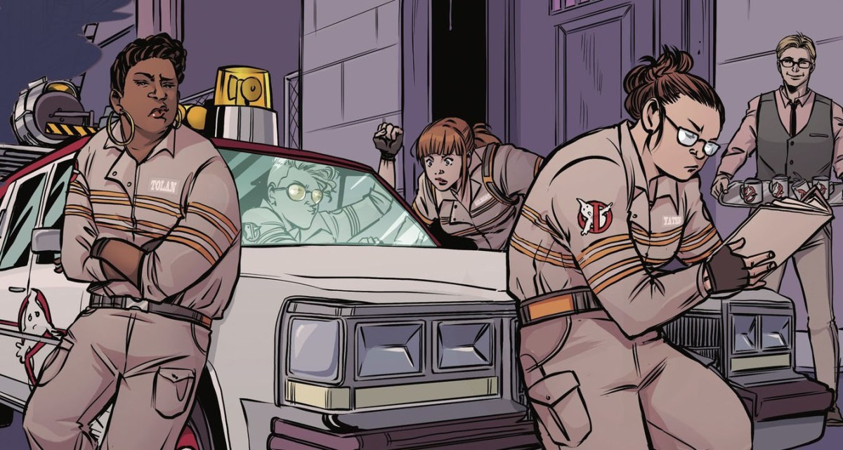 Ghostbusters 2016 team is back in new comic adventures