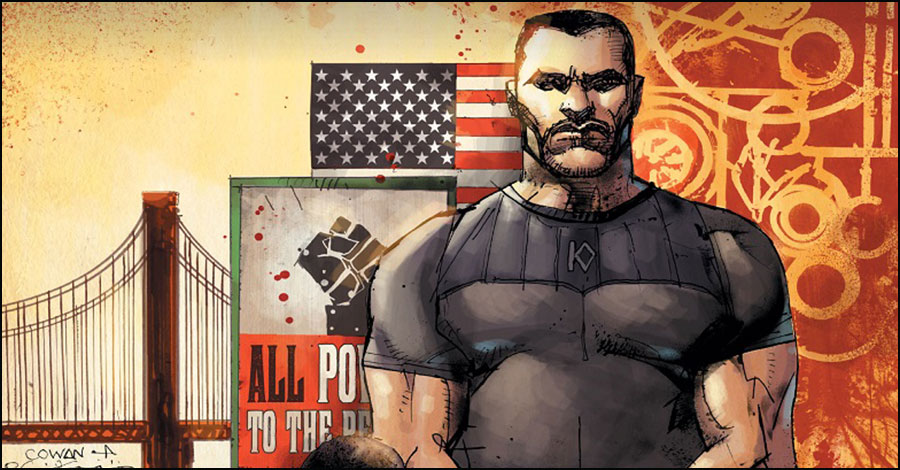 Deathblow returns to his own title in new 'Michael Cray' series