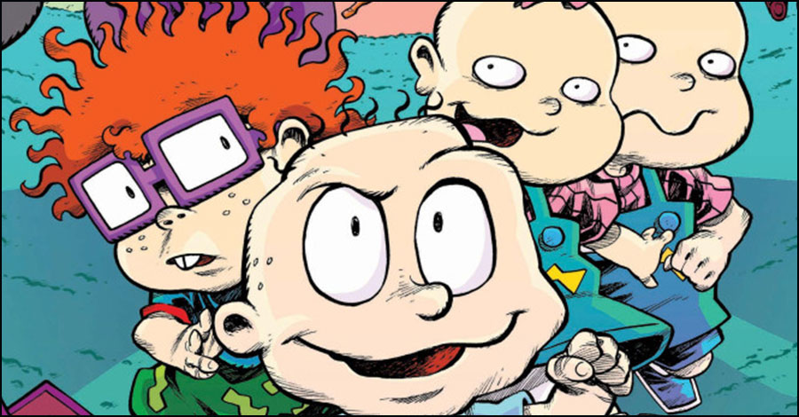 BOOM! recruits Box Brown and Lisa Dubois for new 'Rugrats' title