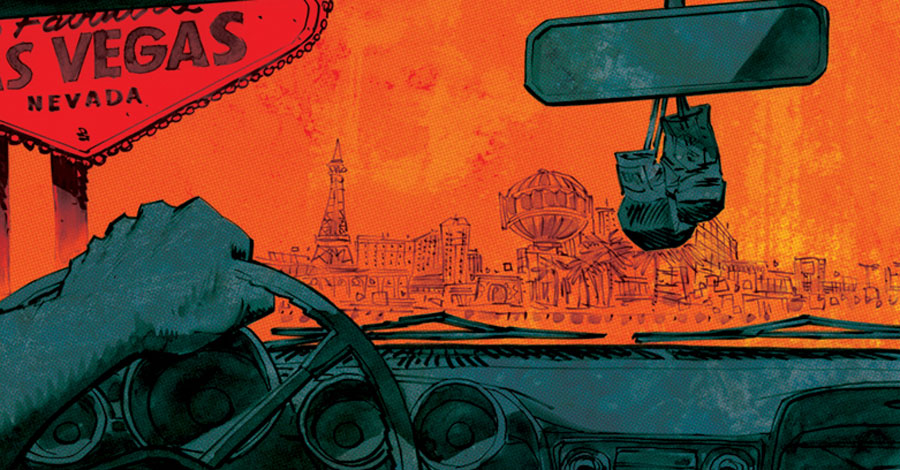 Panosian goes for broke in Skybound's 'Slots'