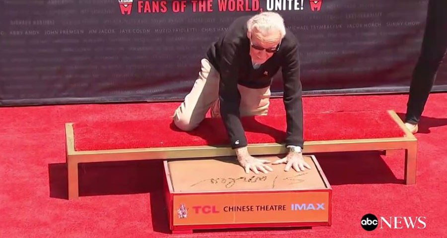Comics Lowdown: Stan Lee immortalized at the TCL Chinese Theatre