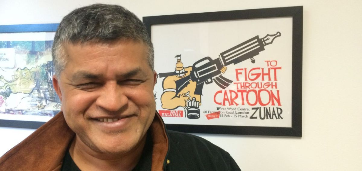 Comics Lowdown: Legal woes for political cartoonists Ted Rall and Zunar