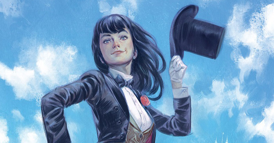 Zatanna heads back to school in 'Mystik U'