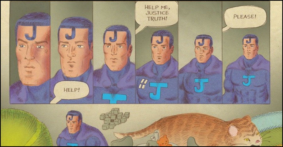 Action figures come to life in Tom Scioli's 'Truth to Power'