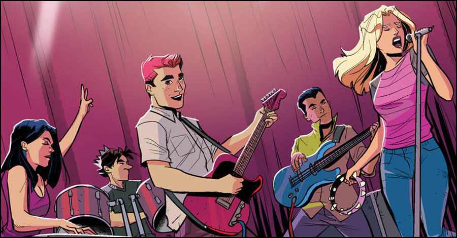 Archie & friends rock out in 'The Archies' #1 [Preview]