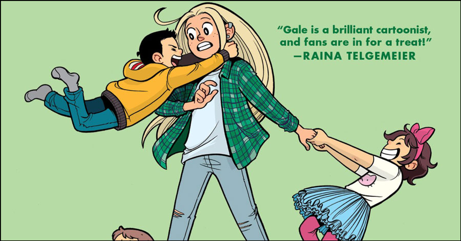 Smash Pages Q&A: Gale Galligan takes on 'The Baby-Sitters Club'
