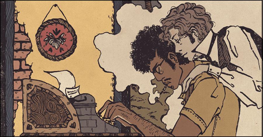 Smash Pages Q&A: Dante Luiz and H. Pueyo