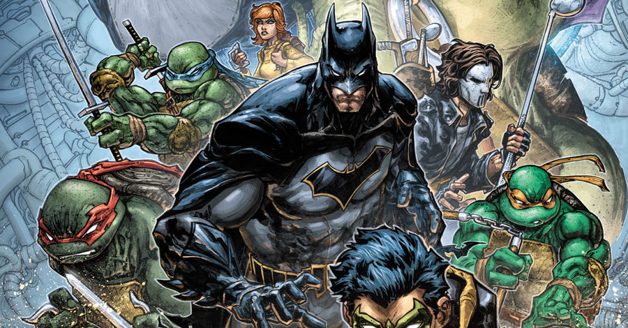 Batman and the Ninja Turtles to team up again in December