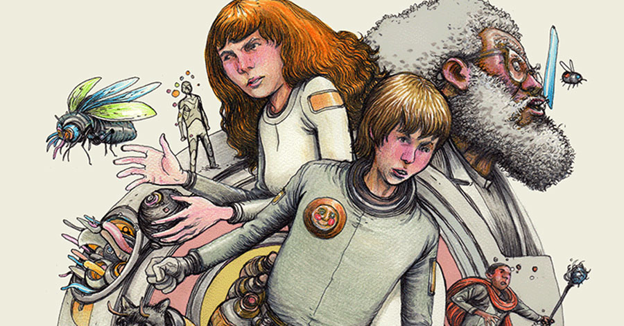 Farel Dalrymple kicks off new 'psychedelic science fiction' webcomic
