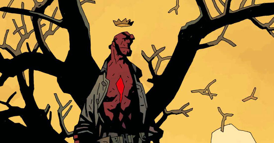 Mignola, Stewart, Dark Horse support Hurricane Harvey victims with special print