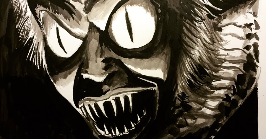 Inktober spotlight: Francesco Francavilla's movie monsters