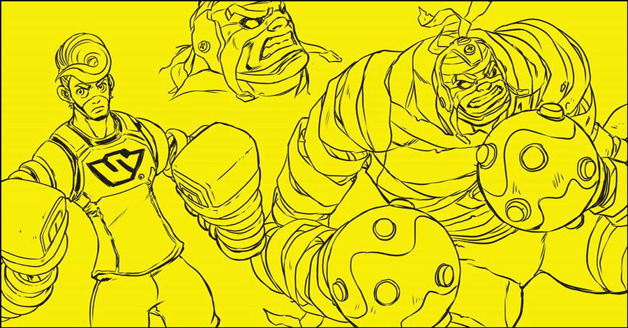 Dark Horse to bring Nintendo's 'ARMS' to comics