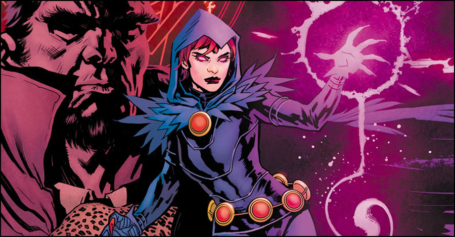 Wolfman writes a new 'Raven' miniseries