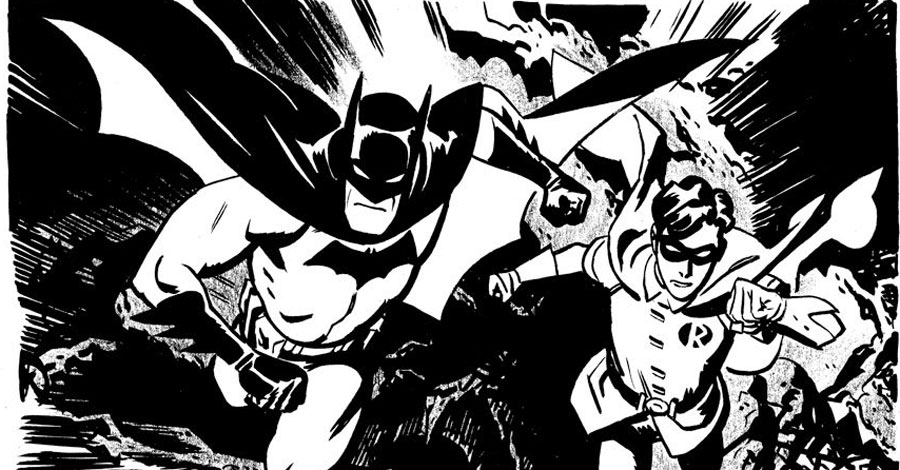 Inktober spotlight: Chris Samnee vacations in Gotham