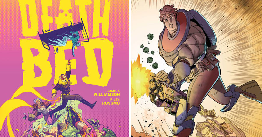 Vertigo announces new series from Spurrier, Williamson