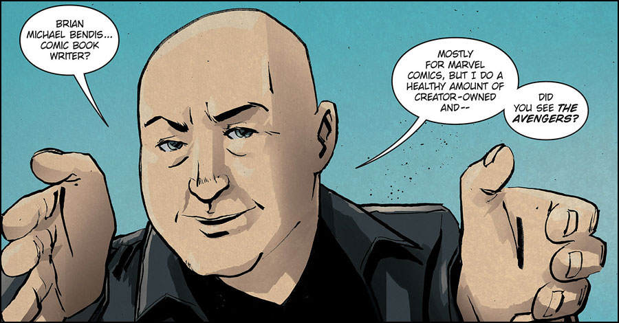 Brian Michael Bendis signs exclusive deal with DC Comics
