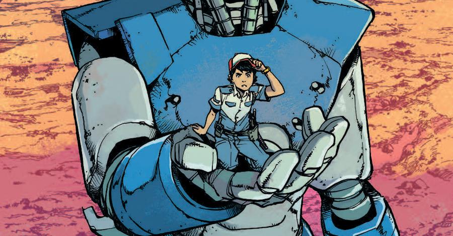 Smash Pages Q&A: Takeshi Miyazawa on 'Mech Cadet Yu'