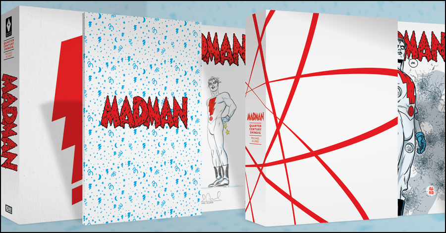 Allred, IDW celebrate 25 years of Madman with limited edition hardcover
