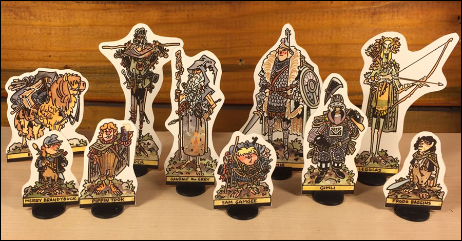 Chris Schweizer walks into Mordor with latest paper figure set