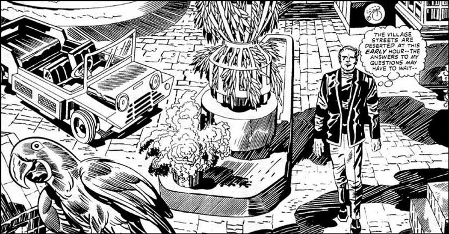 Lost Kirby/Kane 'Prisoner' comic coming from Titan Comics