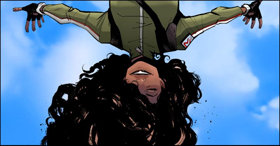 Image Comics defies gravity in new comic 'Skyward'