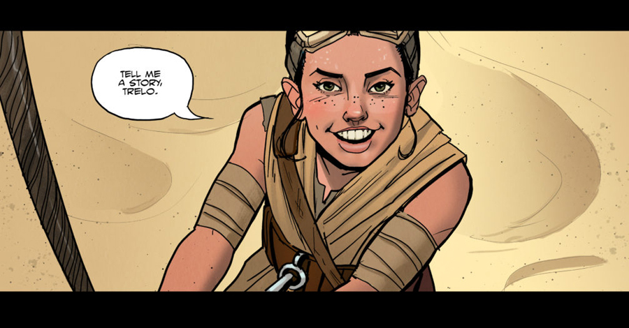 'A Star Wars Comic' explores 'small moments' from the epic saga