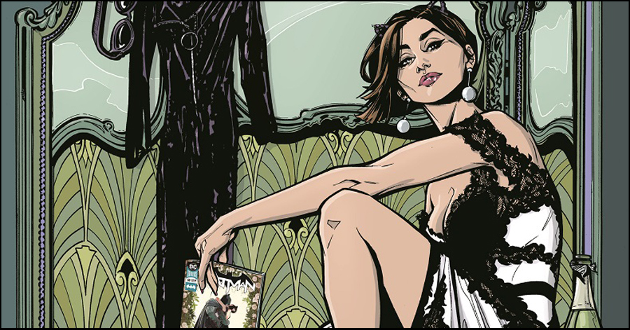 C2E2: Joëlle Jones working on new 'Catwoman' series, statue