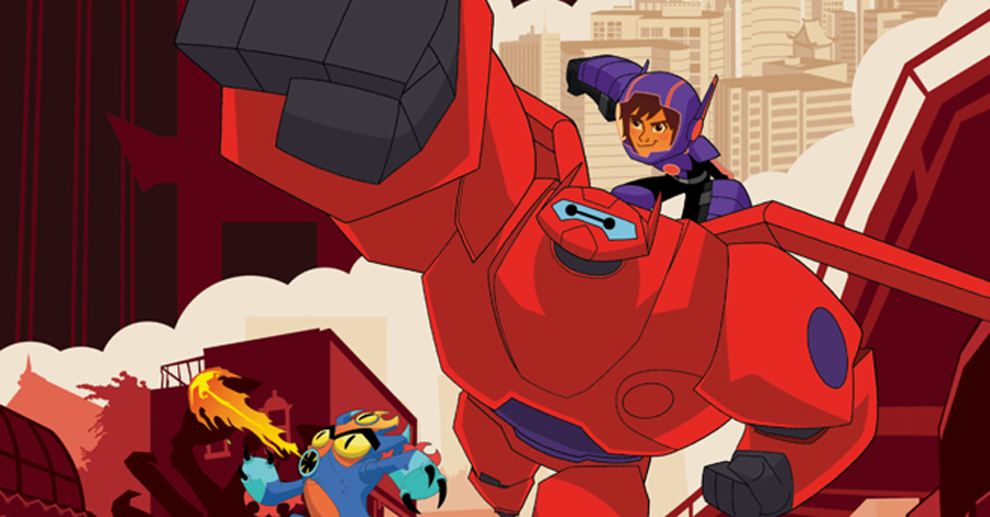 IDW announces their 'Big Hero 6' creative team