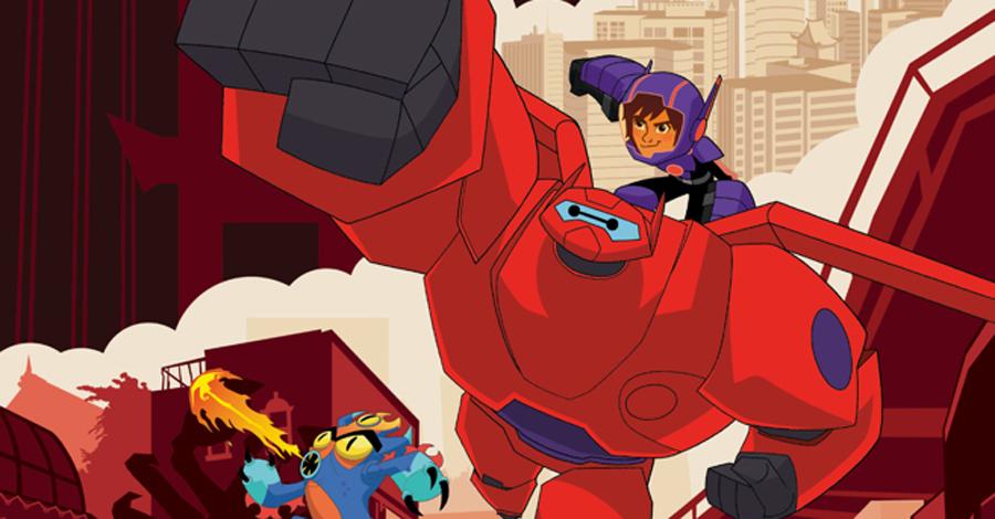 IDW announces their 'Big Hero 6' creative team