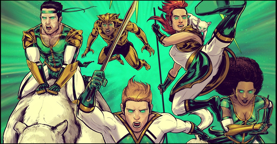 Smash Pages Q&A: Brian Andersen on 'Stripling Warrior'