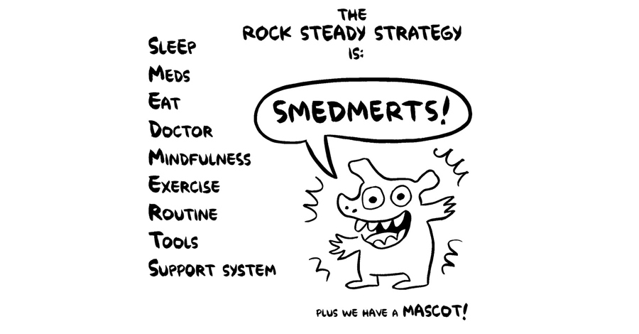 Smash Pages Q&A: Ellen Forney on 'Rock Steady'