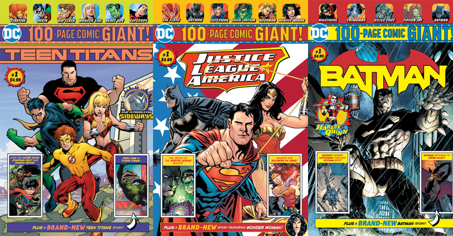 Walmart to offer exclusive 'giant' anthologies from DC — with new content