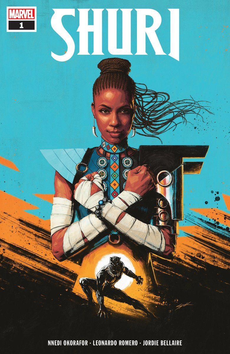Shuri' jumps into her own series by Okorafor + Romero