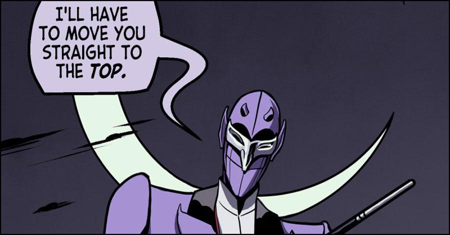 Smash Pages Q&A: Dan Schkade on 'Lavender Jack'