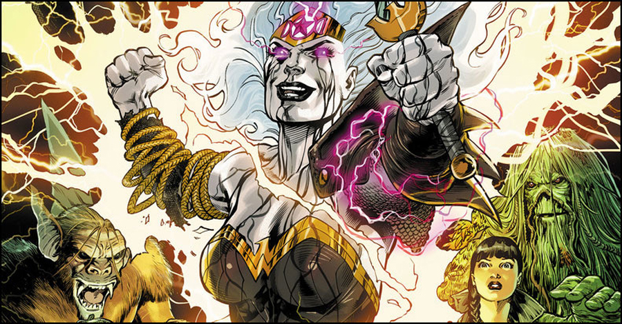 Tynion pits Wonder Woman, Justice League Dark against Hecate in October