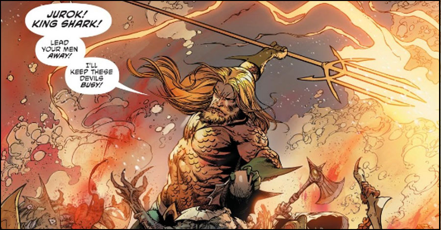 DeConnick + Rocha to take over 'Aquaman'