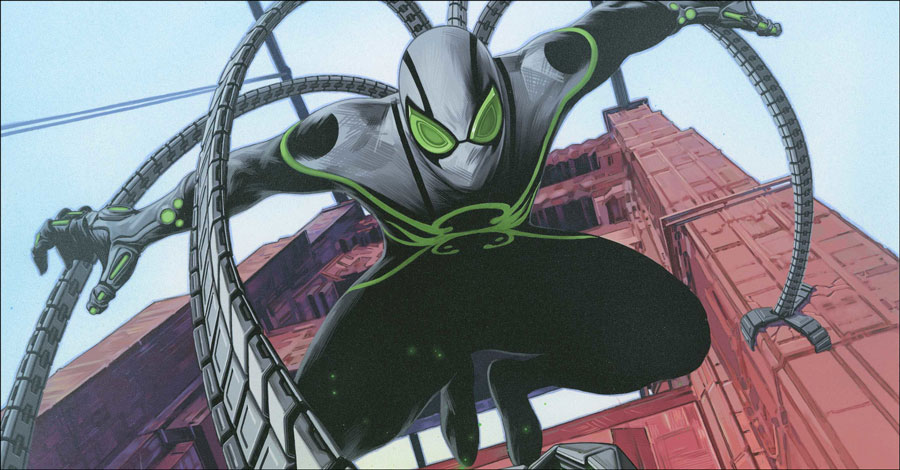Spidey villain gets his own title this fall in 'Superior Octopus'