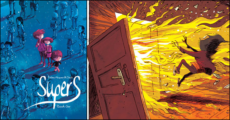 Top Shelf brings 'Supers' to America this fall
