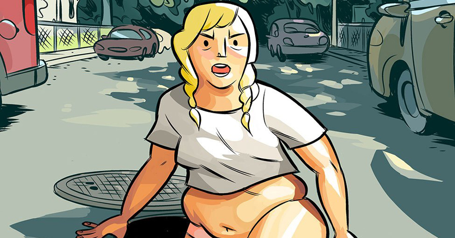 Smash Pages Q&A: Carolyn Nowak's 'Girl Town'