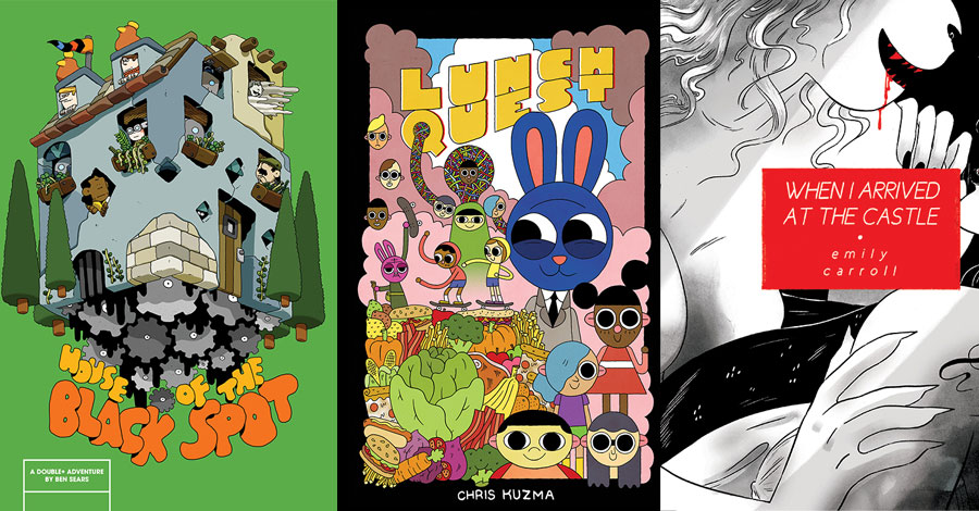 Koyama Press announces new titles by Sears, Carroll, Leighton, Kuzma