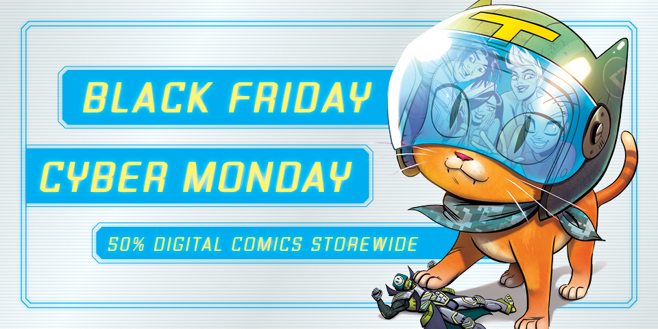 2018 Cyber Monday Comic Sales