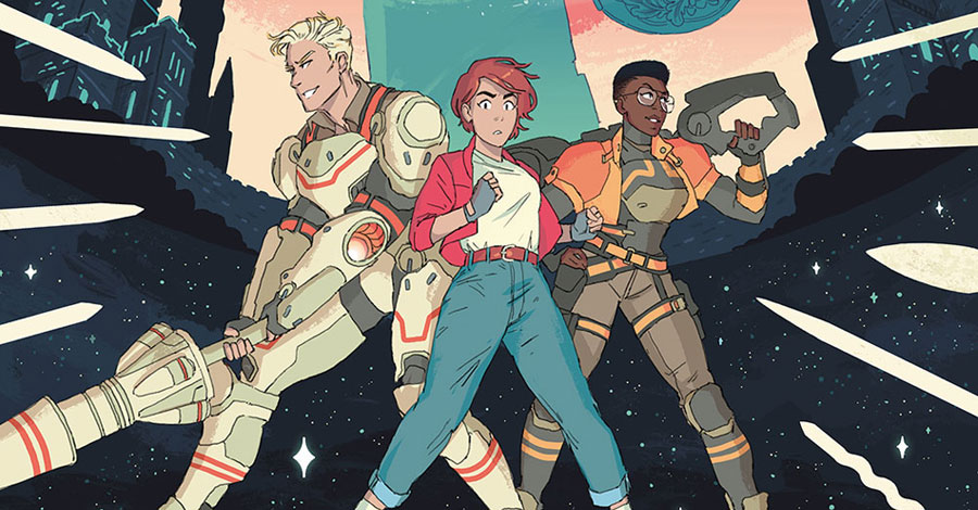Hannah Templer's 'Cosmoknights' lead the rebellion at Top Shelf