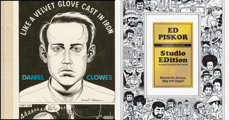 Clowes, Piskor get Studio Editions in October