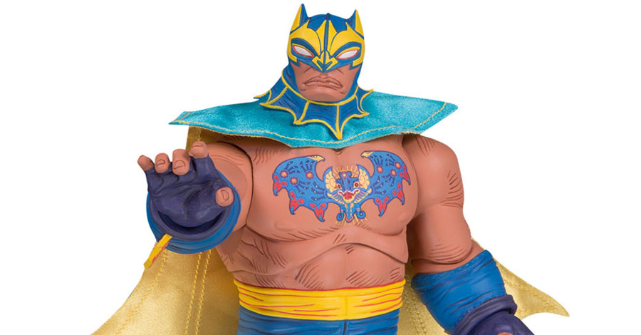 DC to debut new ¡Lucha Explosiva! figures at Toy Fair