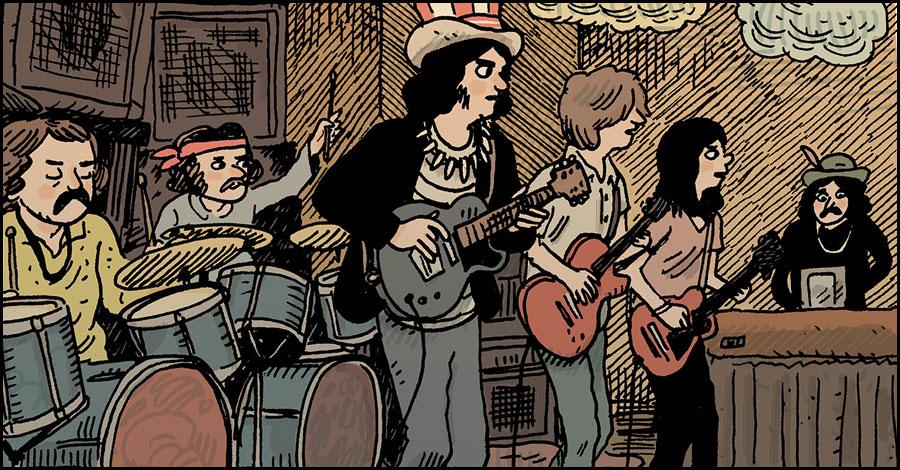 Grateful Dead get an origin story thanks to Z2 Comics